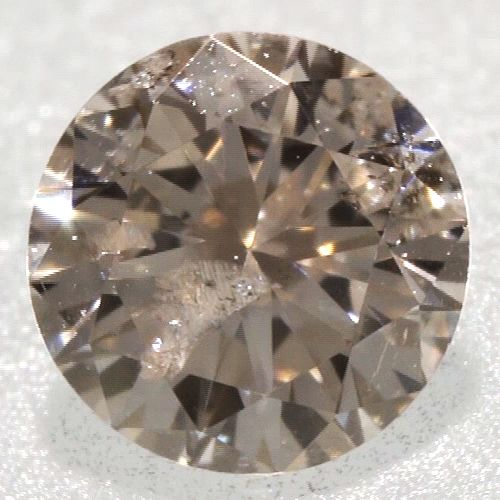 0 07 Ct Round Brilliant Champagne Color I3 2 44 Mm Size Earth Mine Loose Diamond Loose Diamonds For Sale Buy Diamonds Online Diamond Sale