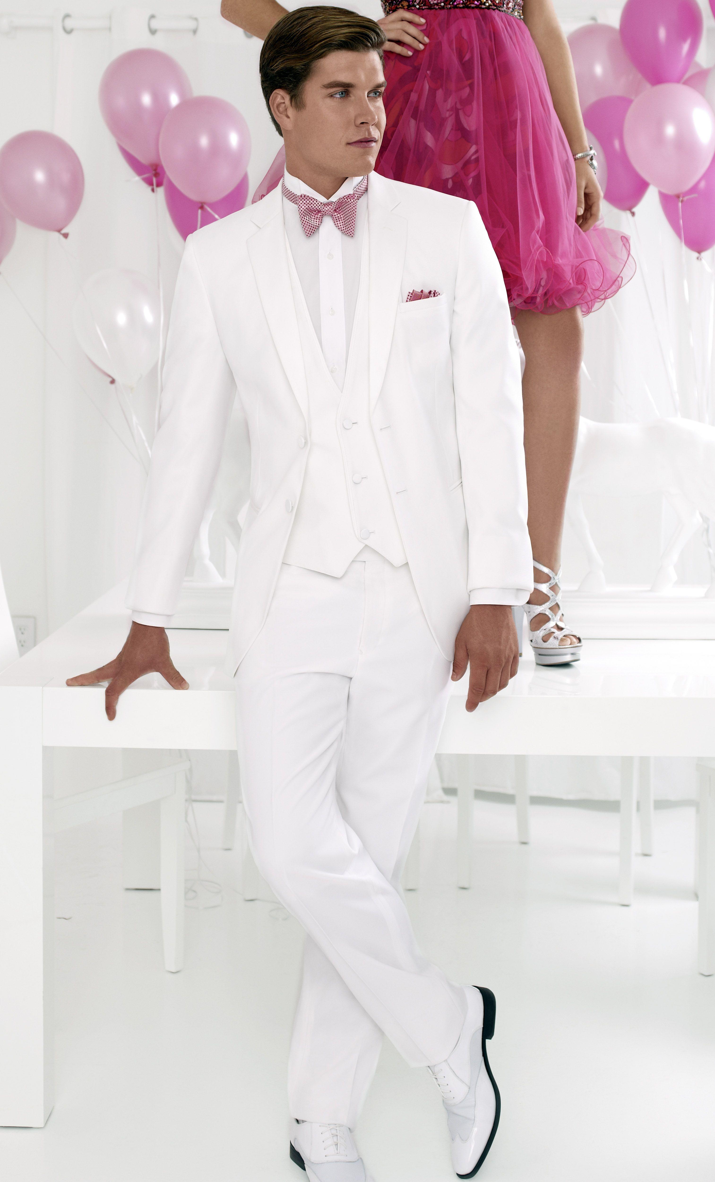 Enchanting All White Tuxedos Prom Component - Wedding Dress Ideas ...
