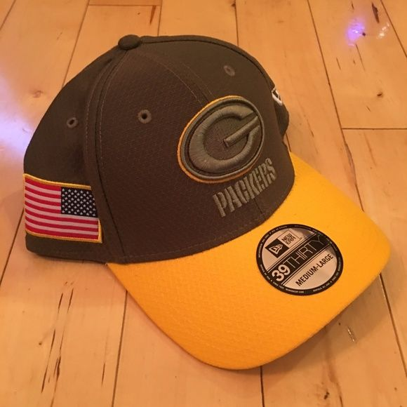 I just added this listing on Poshmark  Green Bay Packers Salute to Service  Cap Hat M L.  shopmycloset  poshmark  fashion  shopping  style  forsale   New Era ... 02f127ae8d8