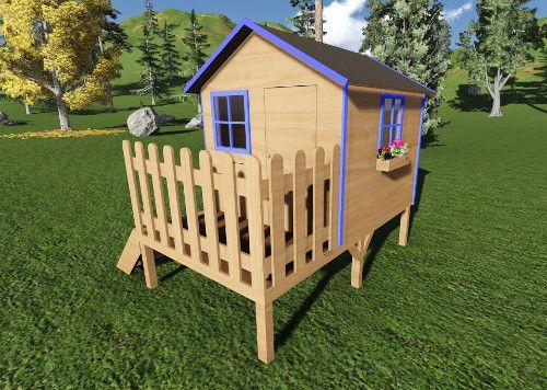 Plan Cabane Enfant Avec Nos Plans De Fabrication Vous Allez Pouvoir  Construire Une Maison Pour Enfant Solide Et Durable. Plusieurs Modèles  Disponibles.