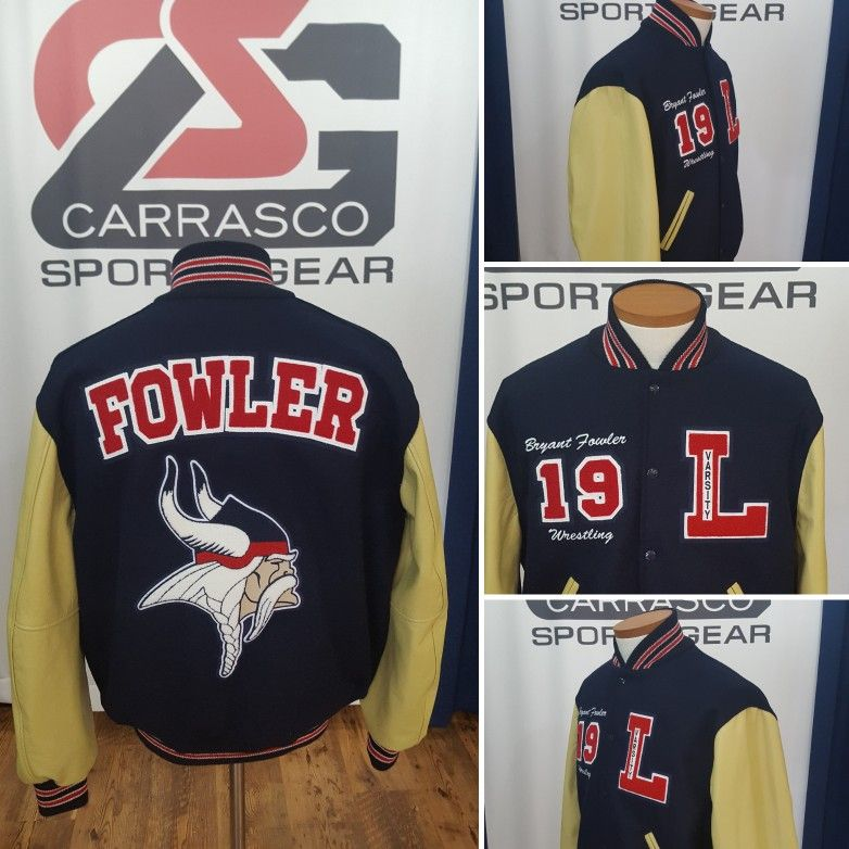 Varsity Jacket by Carrasco Sports Gear for Lynbrook High
