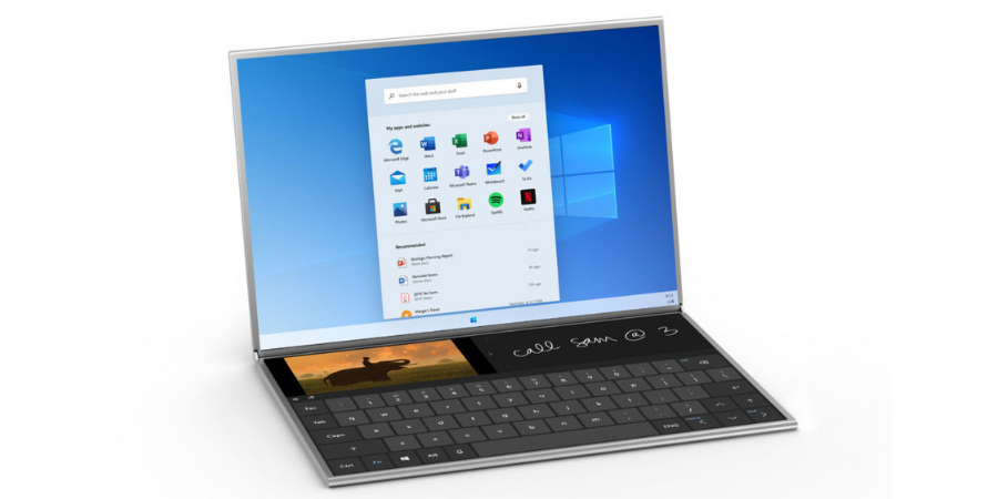 Microsoft Surface Neo is a foldable Windows laptop for