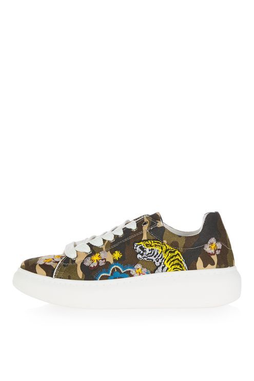TIMMY Camouflage Tiger Trainers