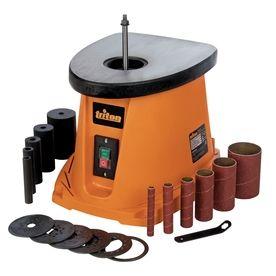 Triton Tools 3 5 Amp Benchtop Sander Lowes Com Spindle Sander