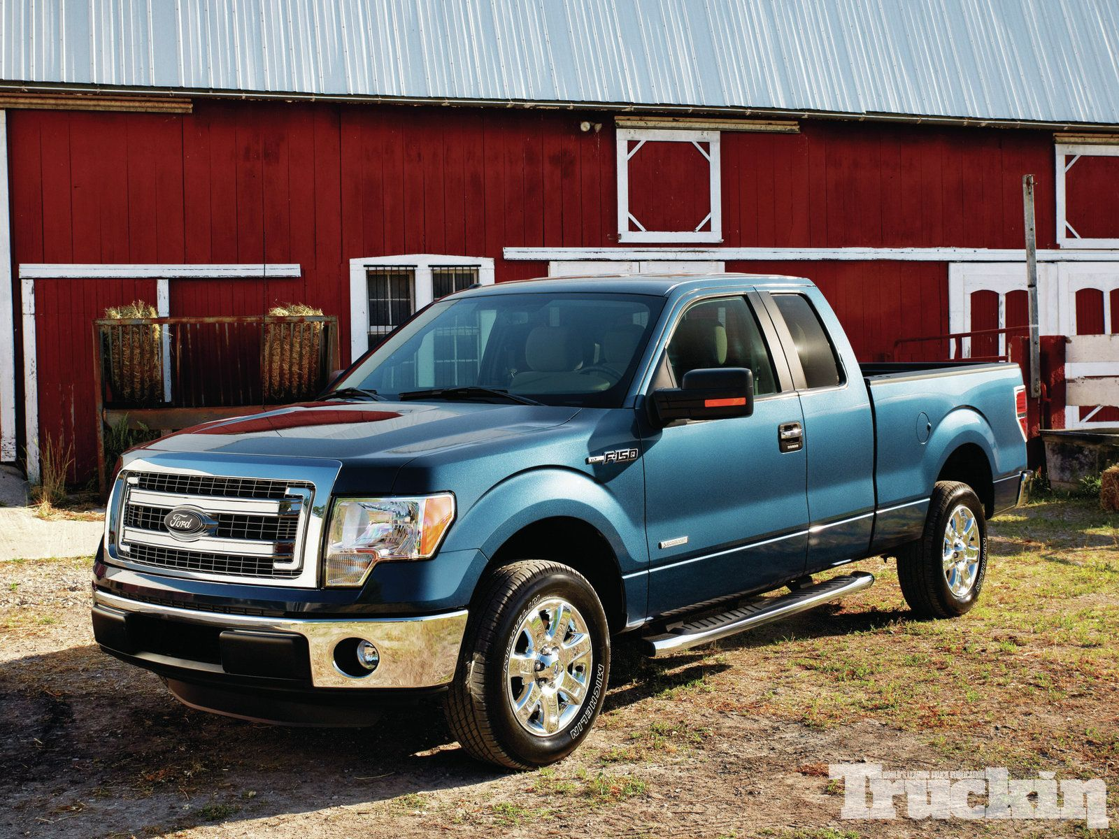 Factory Fresh 2013 New Truck Review Truckin Magazine With Images Ford Trucks