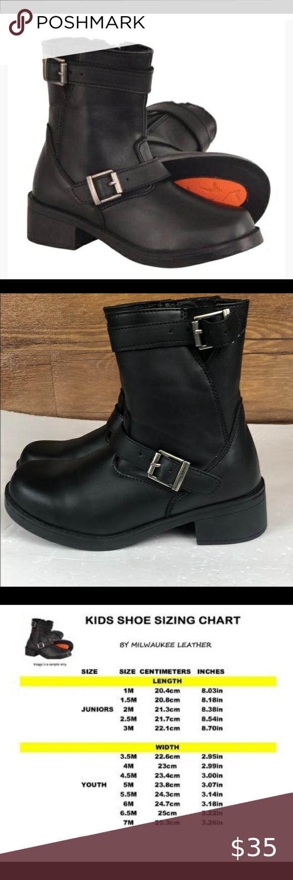 Milwaukee Leather MBK9290 Boys Black