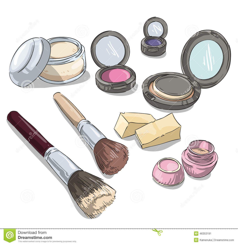 Ilustraciones Maquillaje Buscar Con Google Make Up Make Up Producten Illustraties