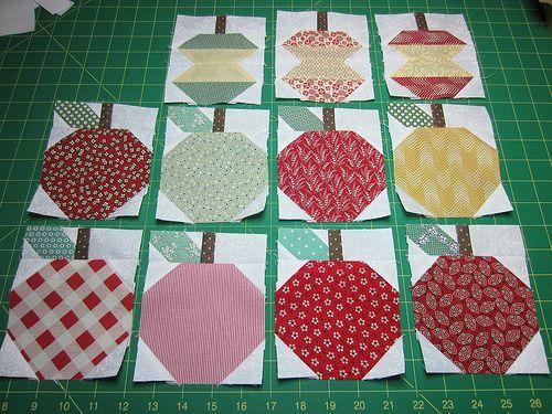 Row 4 apples