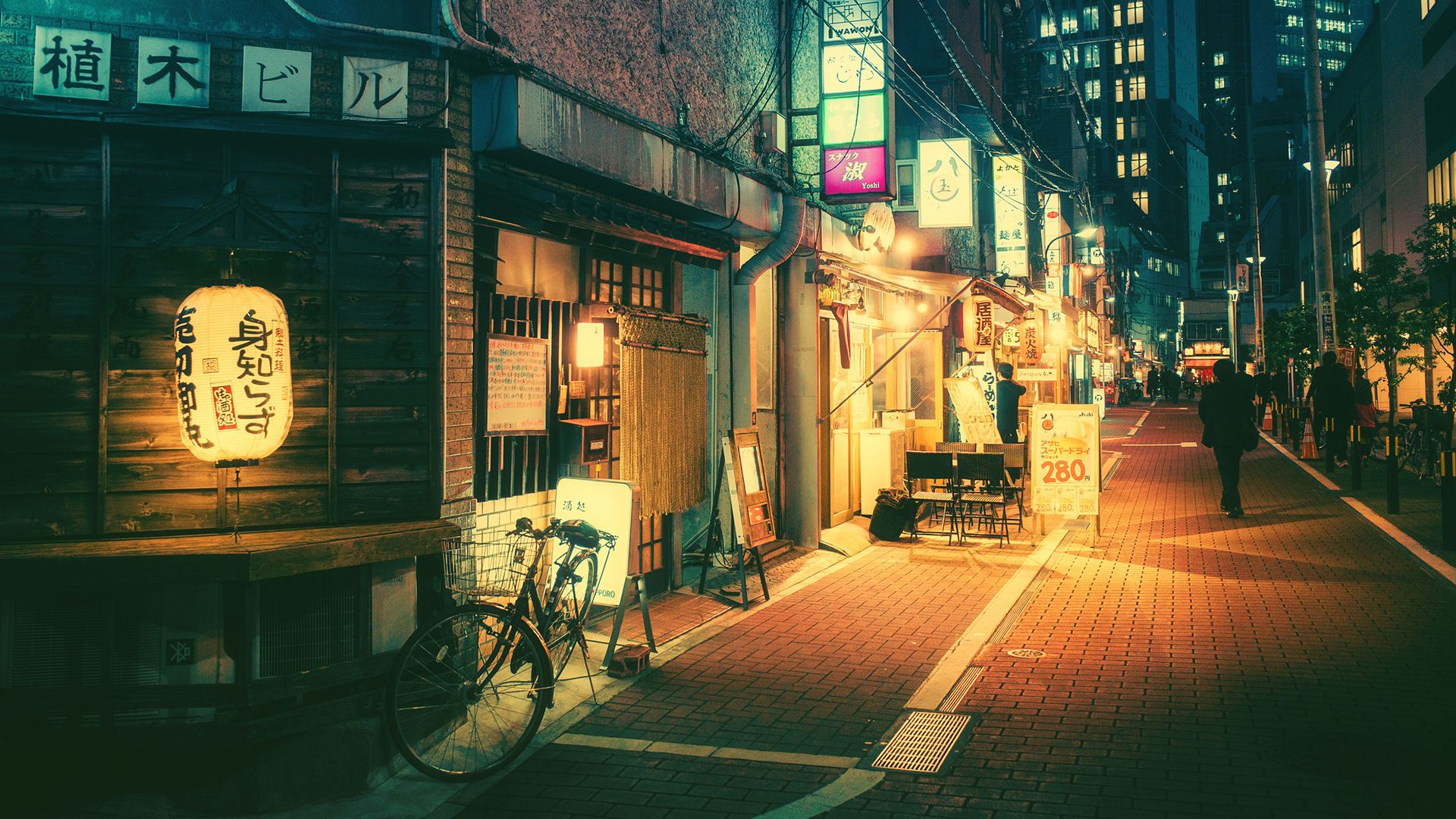 Tokyo After Work 1920x1080 R Wallpapers Anime City Night Photos Photo