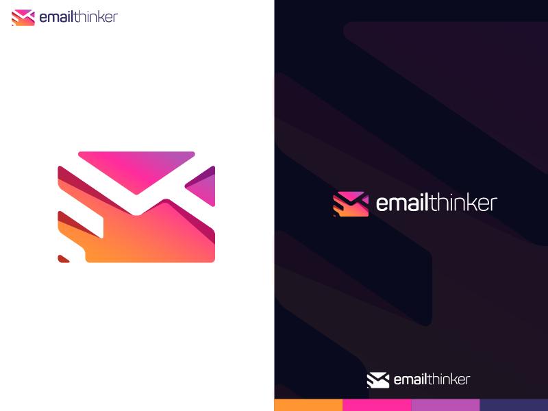 Email Thinker Logo Logo Design Logos Personal Logo