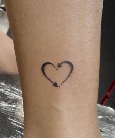Heart Tattoo Design Gallery Meaning Tattoos For Daughters