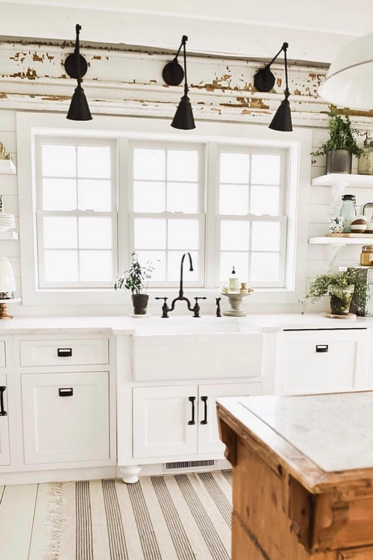 9 Smart Tips To Add Farmhouse Style To Your Kitchen   House Topics ...