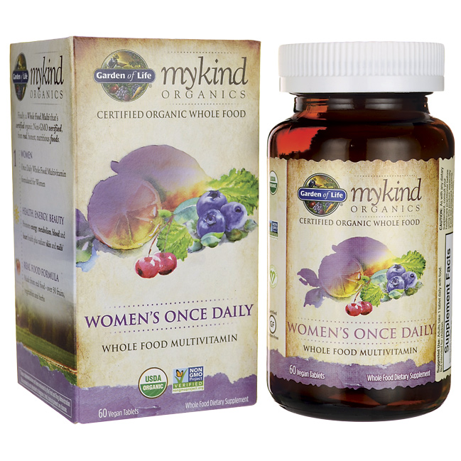 Garden of Life Mykind Organics Women's Once Daily 60