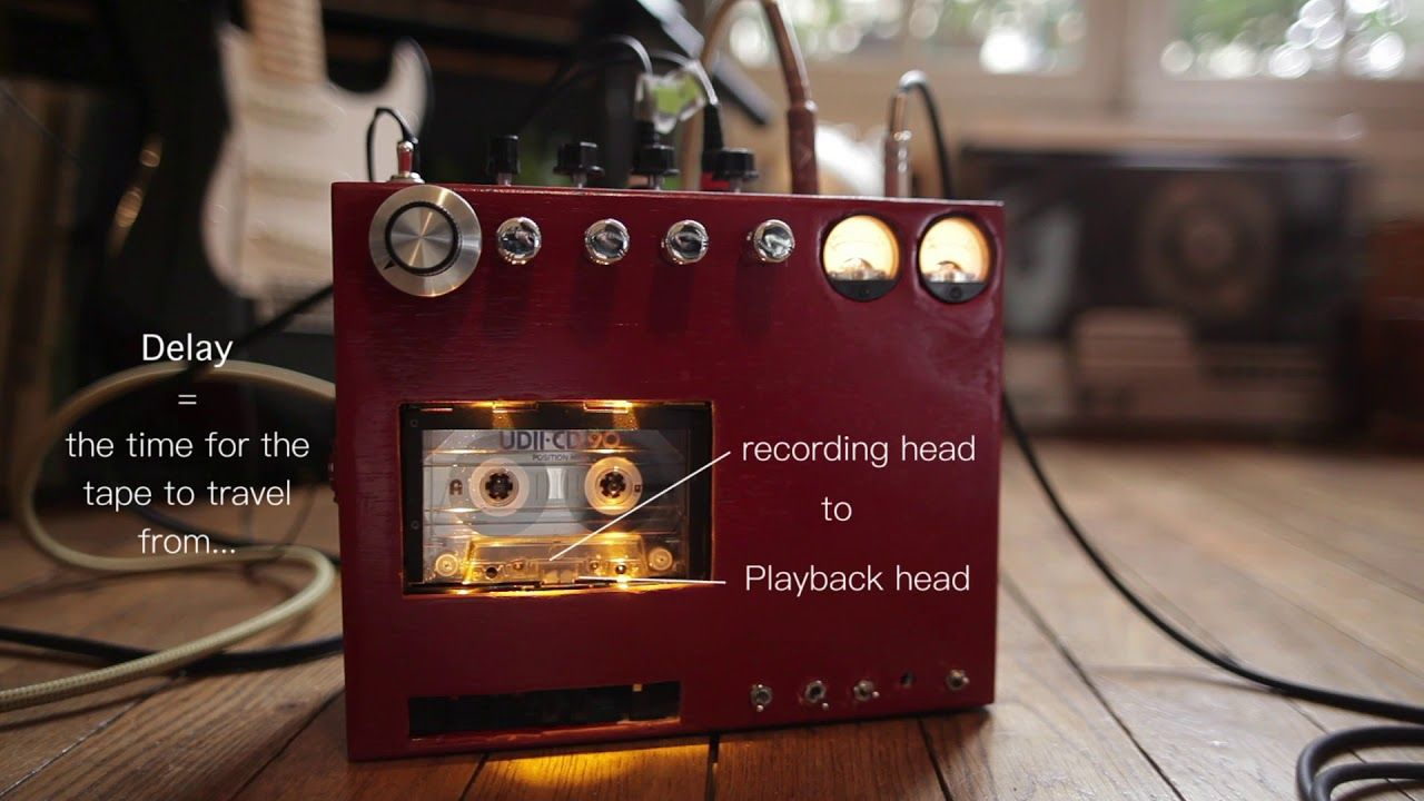 Diy Cassette Tape Delay Echo Stereo Recording Stuff Boss Dd2 Digital Guitar Pedal Schematic Diagram