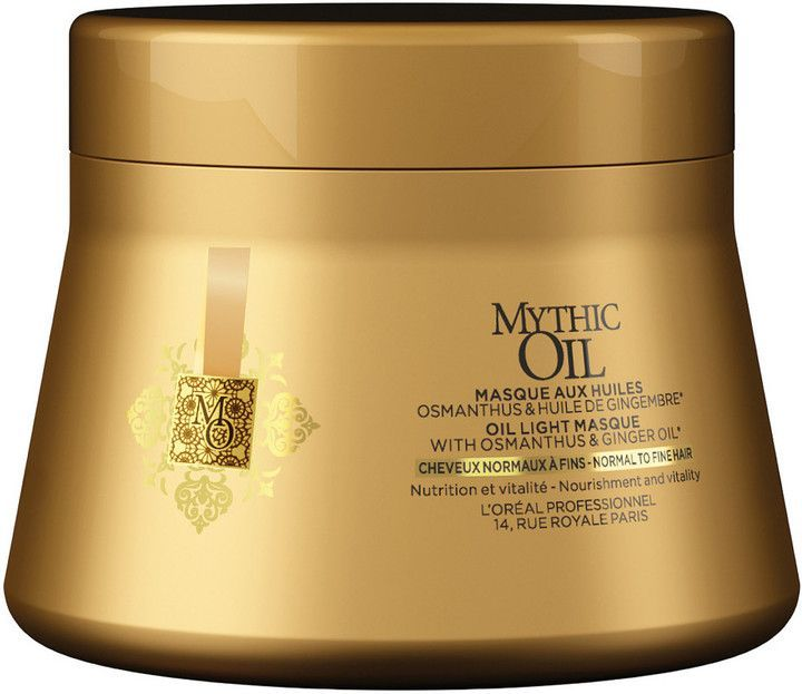 Online Only Mythic Oil Oil Light Masque Normal to Fine