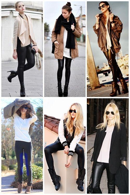 7ed121d66a1f9 Cómo combinar…tus pantalones de cuero.