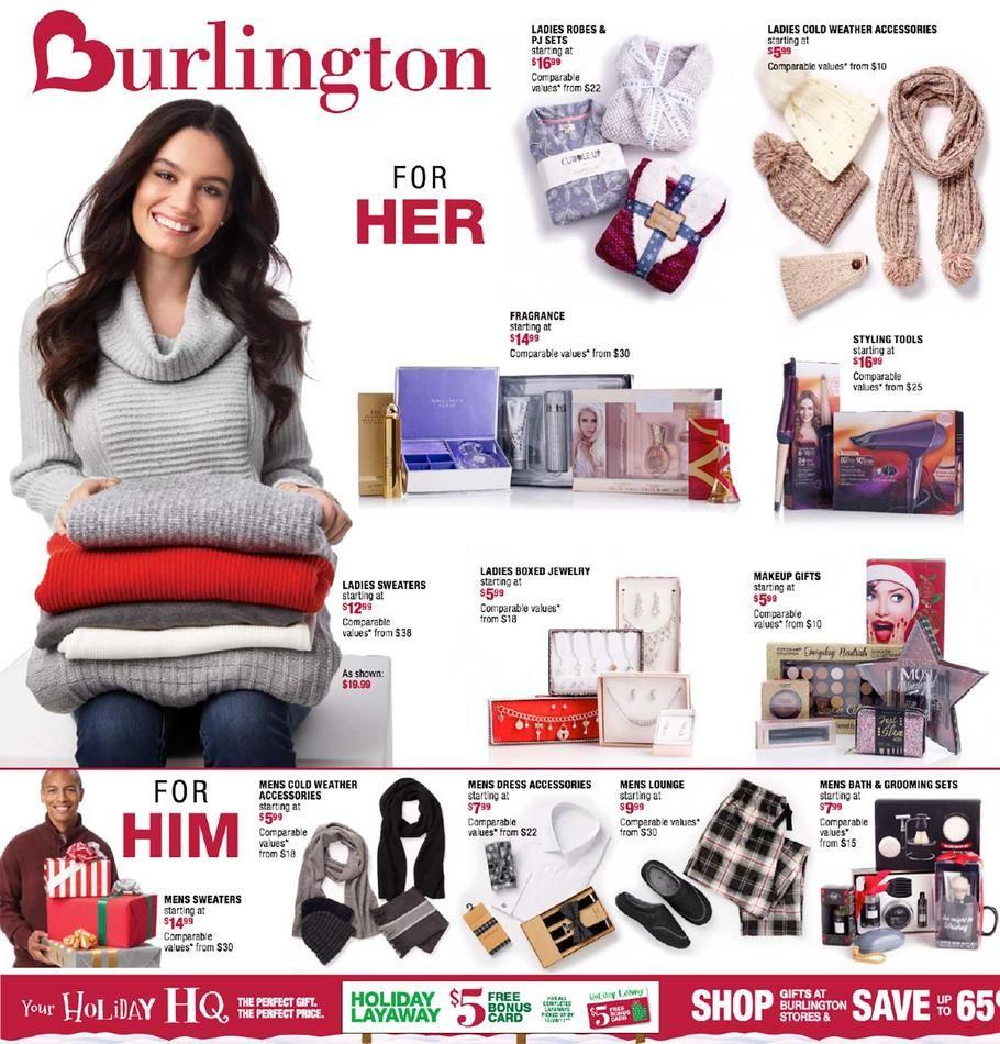 Burlington Coat Factory Black Friday 2017 Ad Scan, Deals