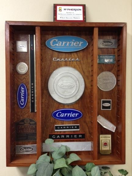 Carrier And Other Nameplates From Ac S And Furnaces In Homemade