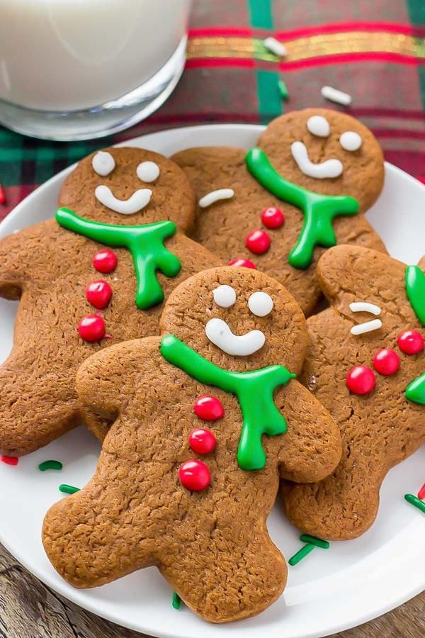 Gingerbread Man Christmas Cookie in 2020 Soft