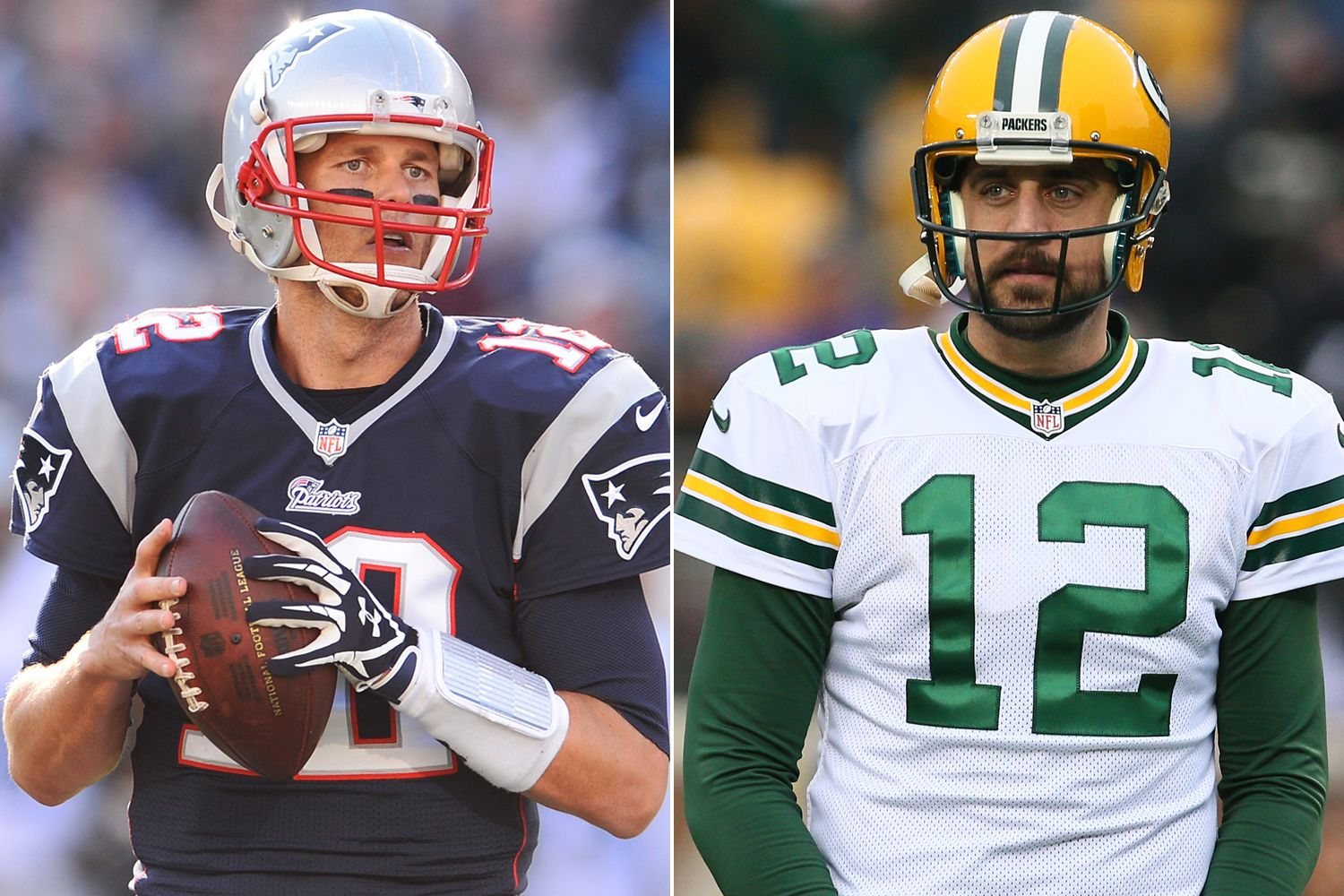 First Ever Brady Rodgers Clash Could Be Super Bowl Preview New England Patriots Super Bowl Packers