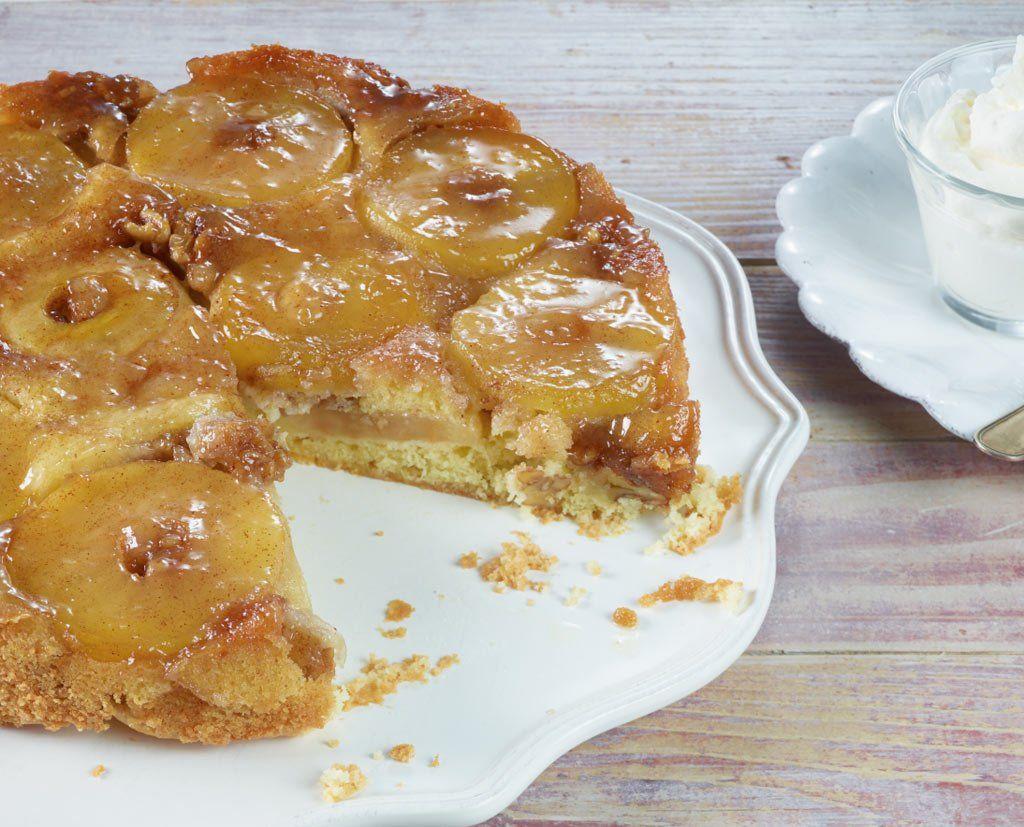 Apfel walnuss kuchen blech