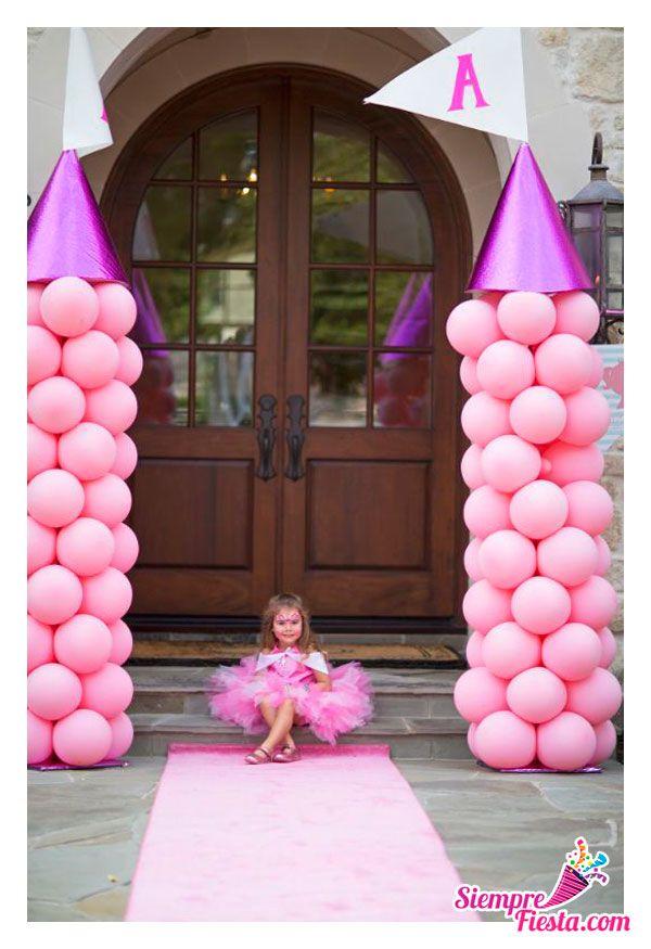 Bonitas ideas para tu pr xima fiesta de las princesas - Decoracion fiesta princesas disney ...