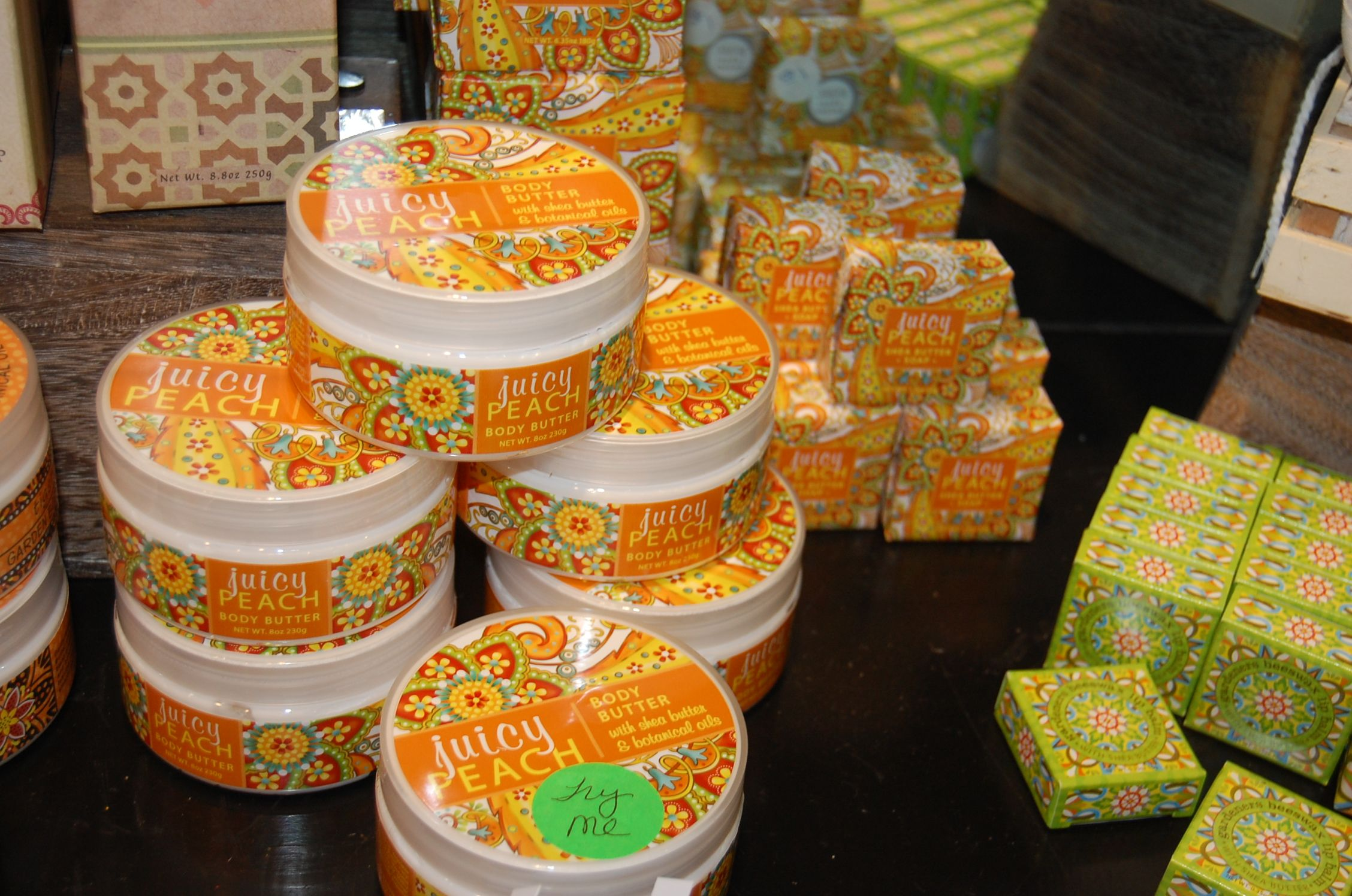 Juicy Peach Lotion and Soap - Monday Morning Flowers - Princeton, NJ
