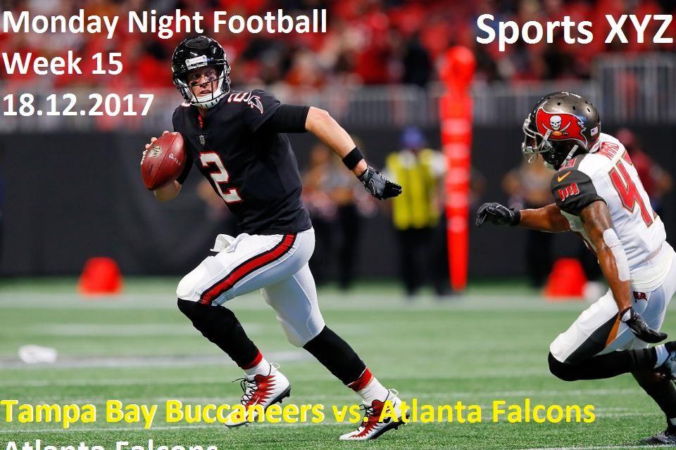 Tampa Bay Buccaneers vs. Atlanta Falcons week 15 Atlanta