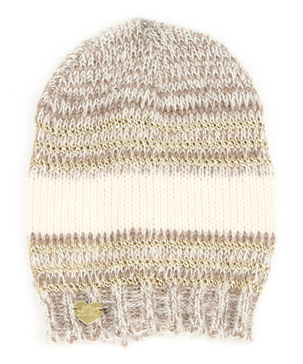 Taupe Unchained Beanie