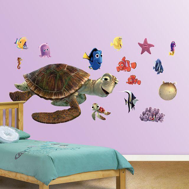 finding nemo wall decal kids decor bedroom playroom nursery