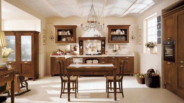 Idee per arredare una cucina classica | kitchen - cuisine ...