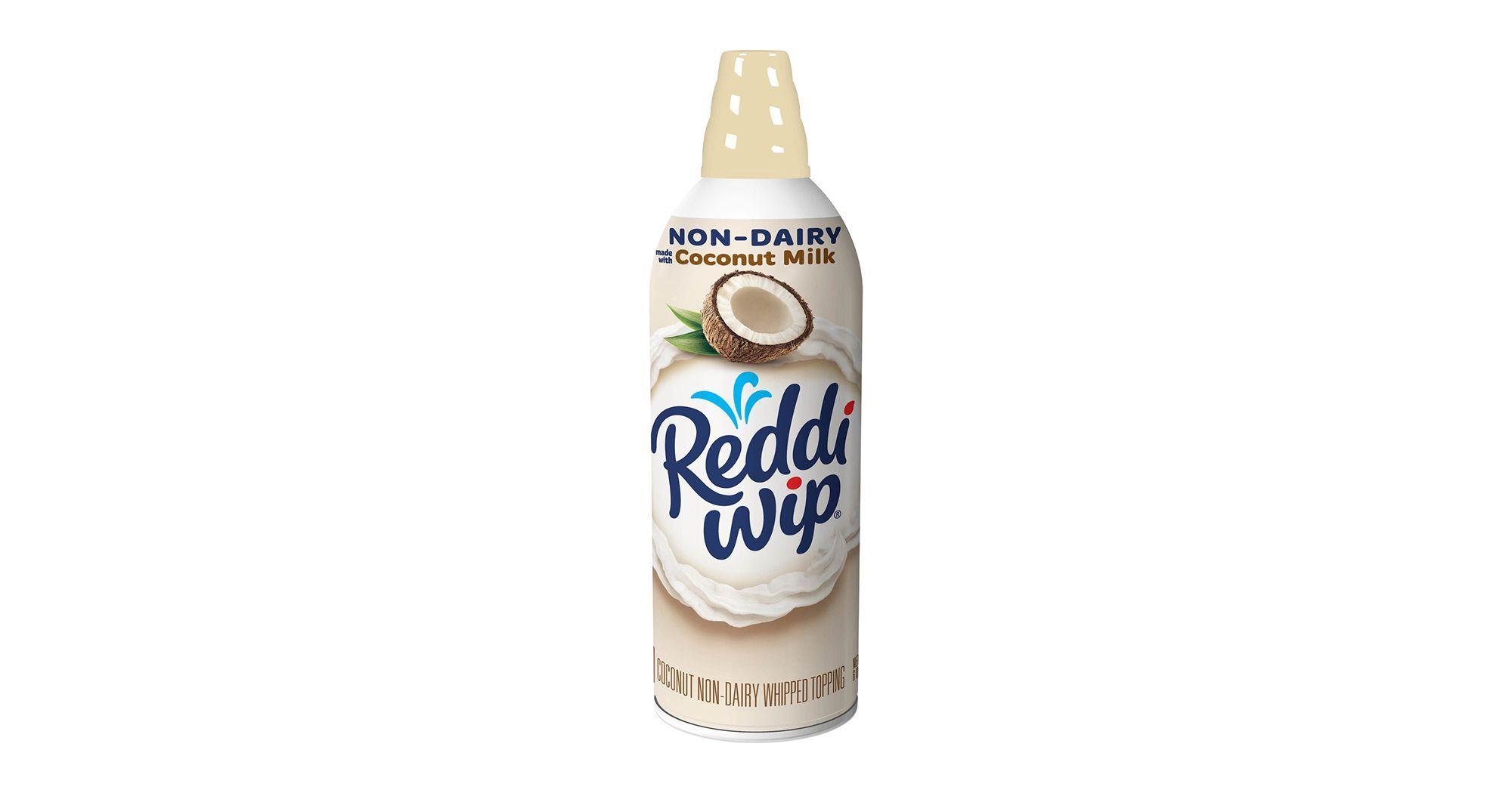 Reddi Wip Launched Non Dairy Almond Milk Whipped Cream We Tried It Almond Milk Whipped Cream Coconut Whipped Cream Almond Milk