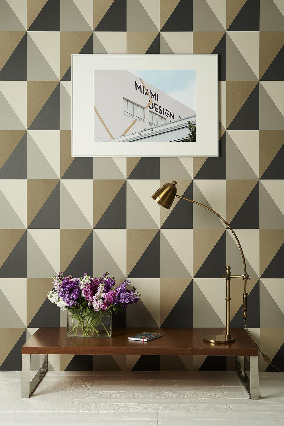 Cole Son Apex Grand Wallpaper Geometric II