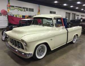 Jeff Knudsen 1955 Chevy Cameo Detroit - Provided by Hotrod
