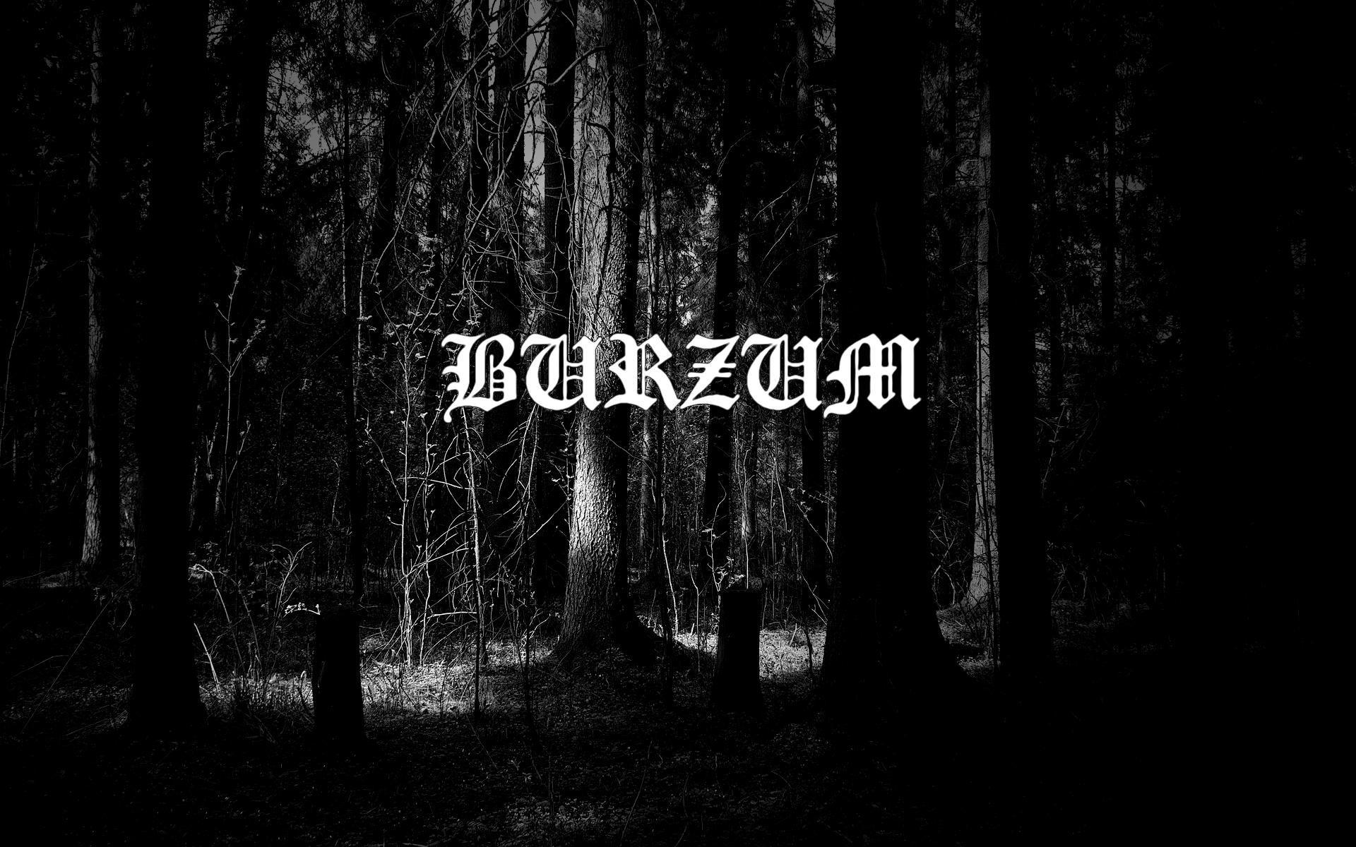 Burzum Burzum Black Metal Black Metal Metallic Wallpaper