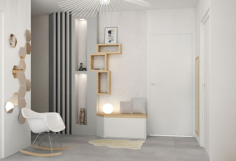 ambiance scandinave am nagement lyon d coration meuble sur mesure r novation appartement. Black Bedroom Furniture Sets. Home Design Ideas