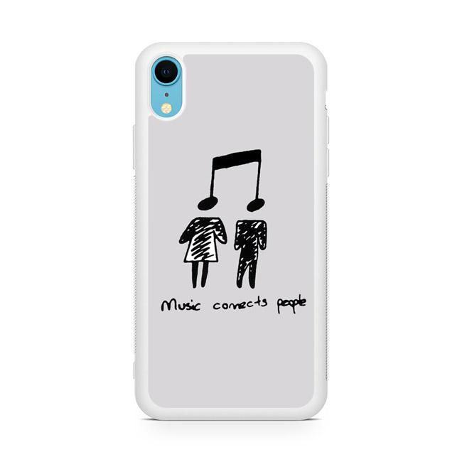 Music Connects People Z iPhone XR Case di 2019