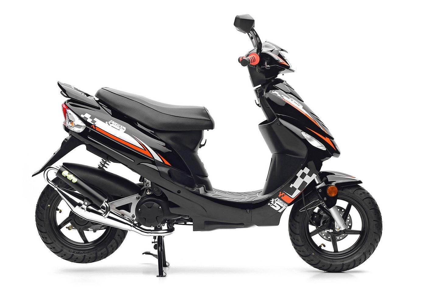 nova motors motorroller city star 49 ccm 45 km h euro. Black Bedroom Furniture Sets. Home Design Ideas