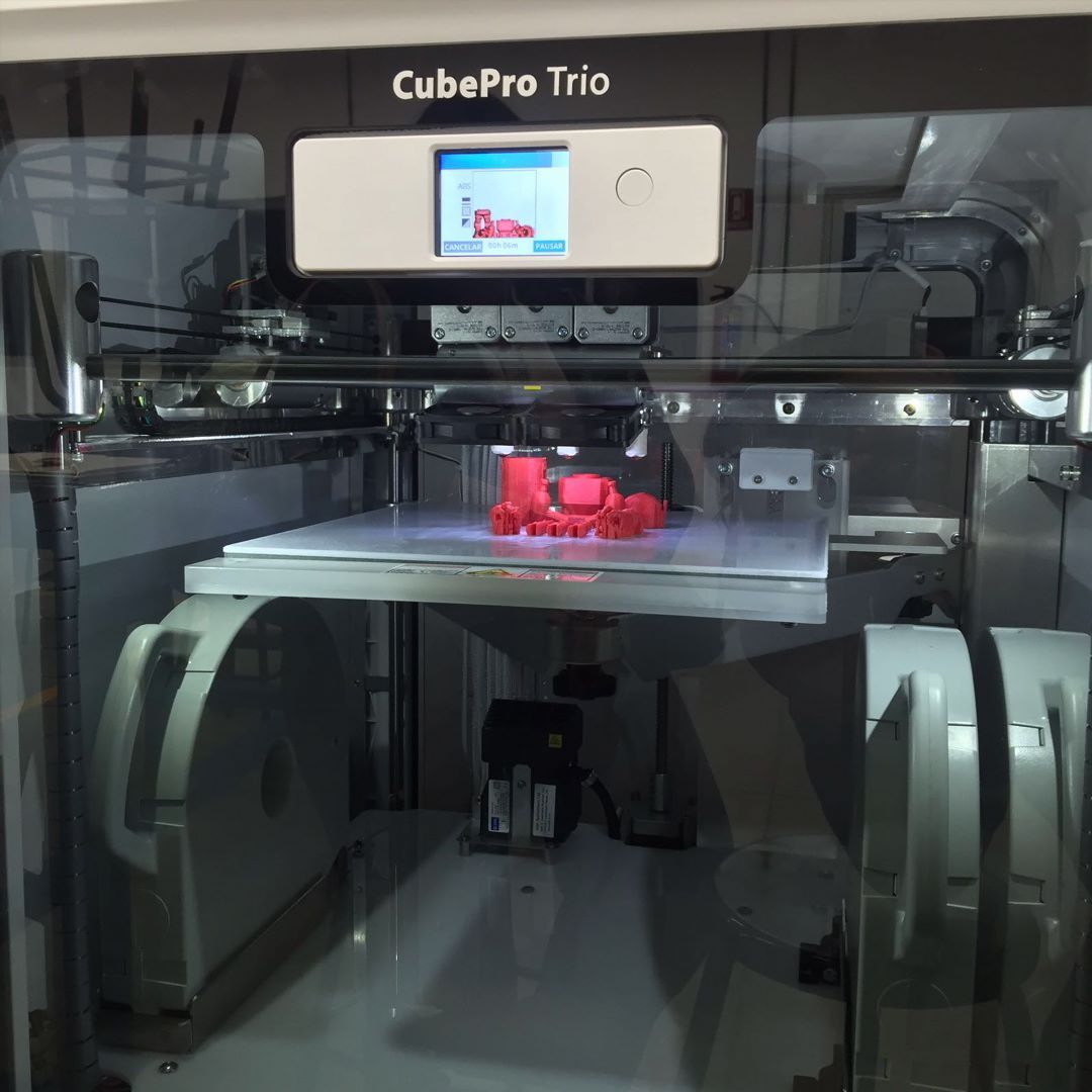 Something we liked from Instagram! Printing test!! #newtoy #3dprinter #cubepro by _alesp check us out: http://bit.ly/1KyLetq