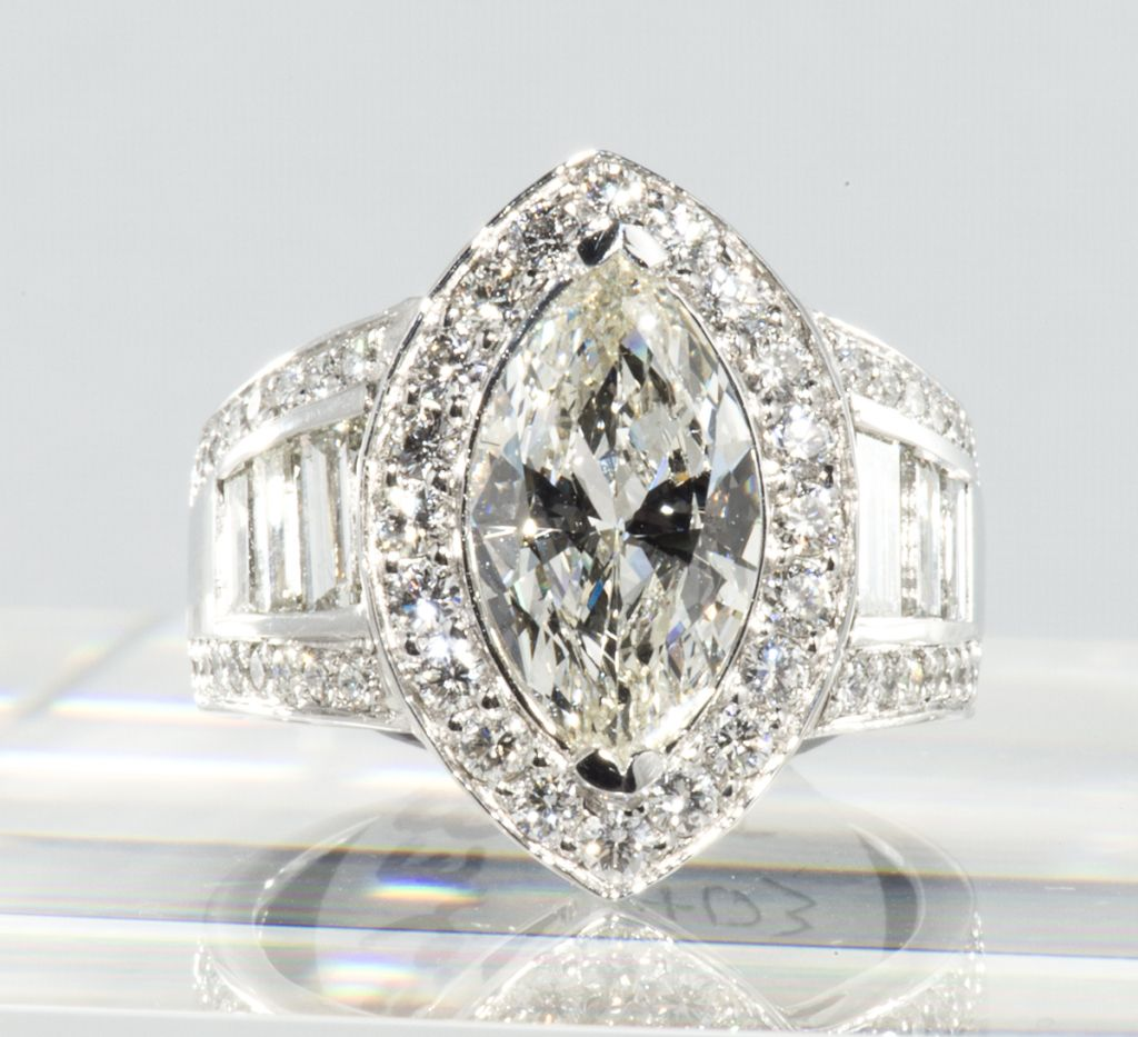 Impressive Marquise Diamond Ring