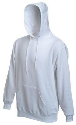Sweatshirt * Hooded Sweat * Fruit of the Loom Weiß,XXL - http:/