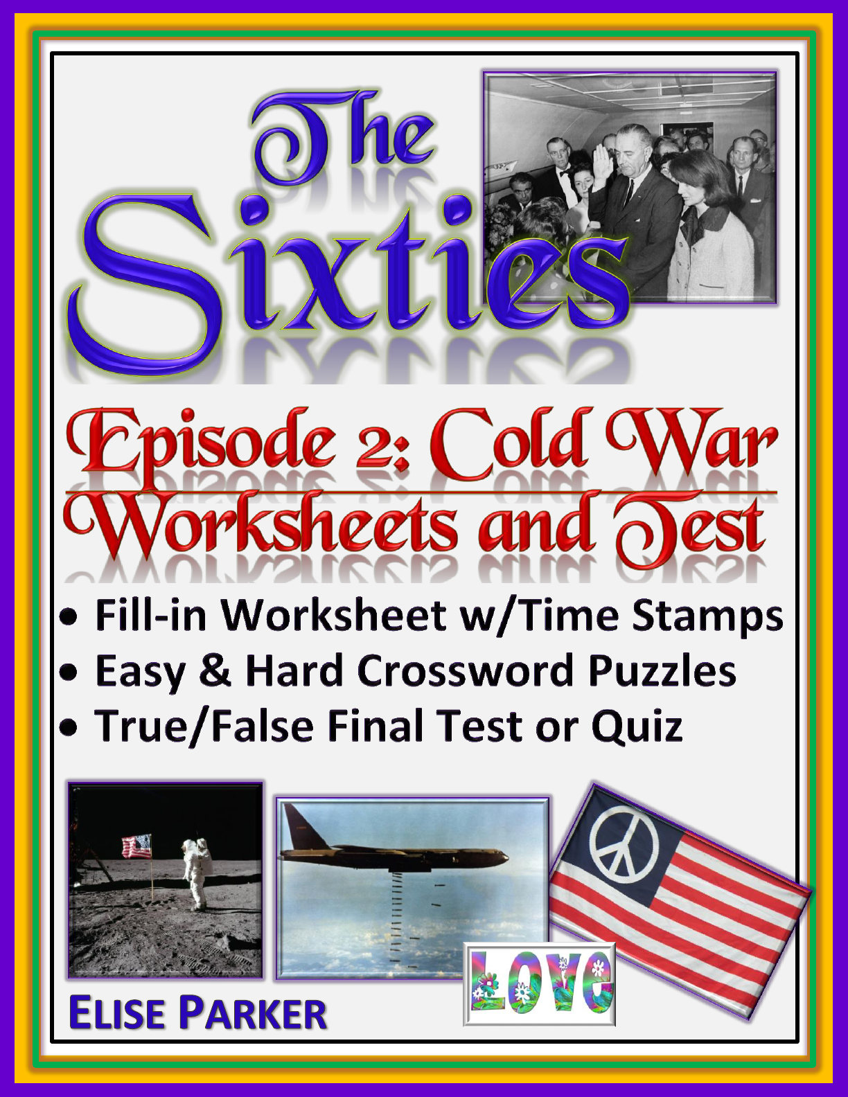 The Sixties Episode 2 Worksheets Puzzles and Test