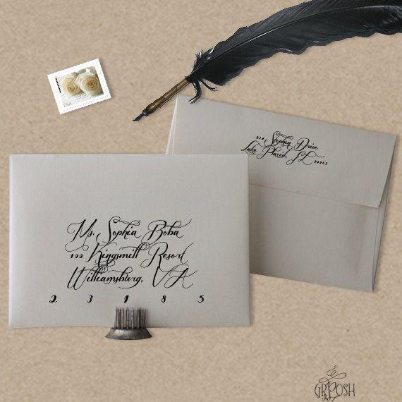 DIY A7 Envelope Template - Style 2 Envelopes, 5x7 envelopes and - a7 envelope template