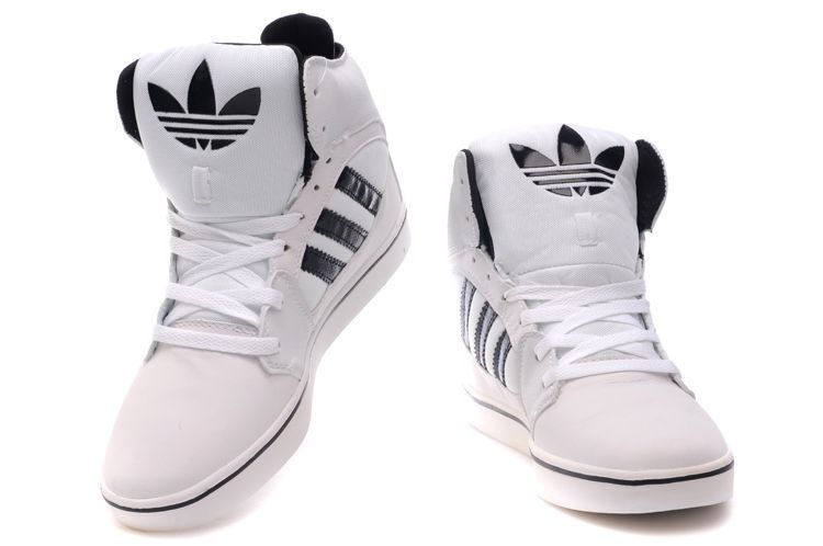 Adidas High Tops White