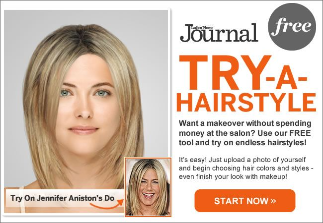 TryAHairstyle Our Free Makeover Tool Upload a photo and