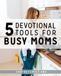 Being a mom is busy! It leaves little room for personal endeavors, let alone the necessity of spending extended time in God's word. So how can we make time soaking in Scripture a priority, and make sure it takes precedence in our days? Here are 5 of our favorite resources to do just that!