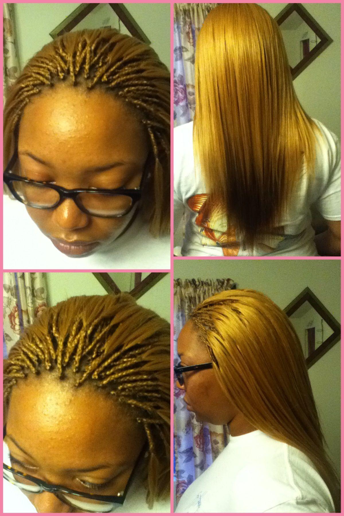 Micro Braids Braid Style Creations Pinterest Hair