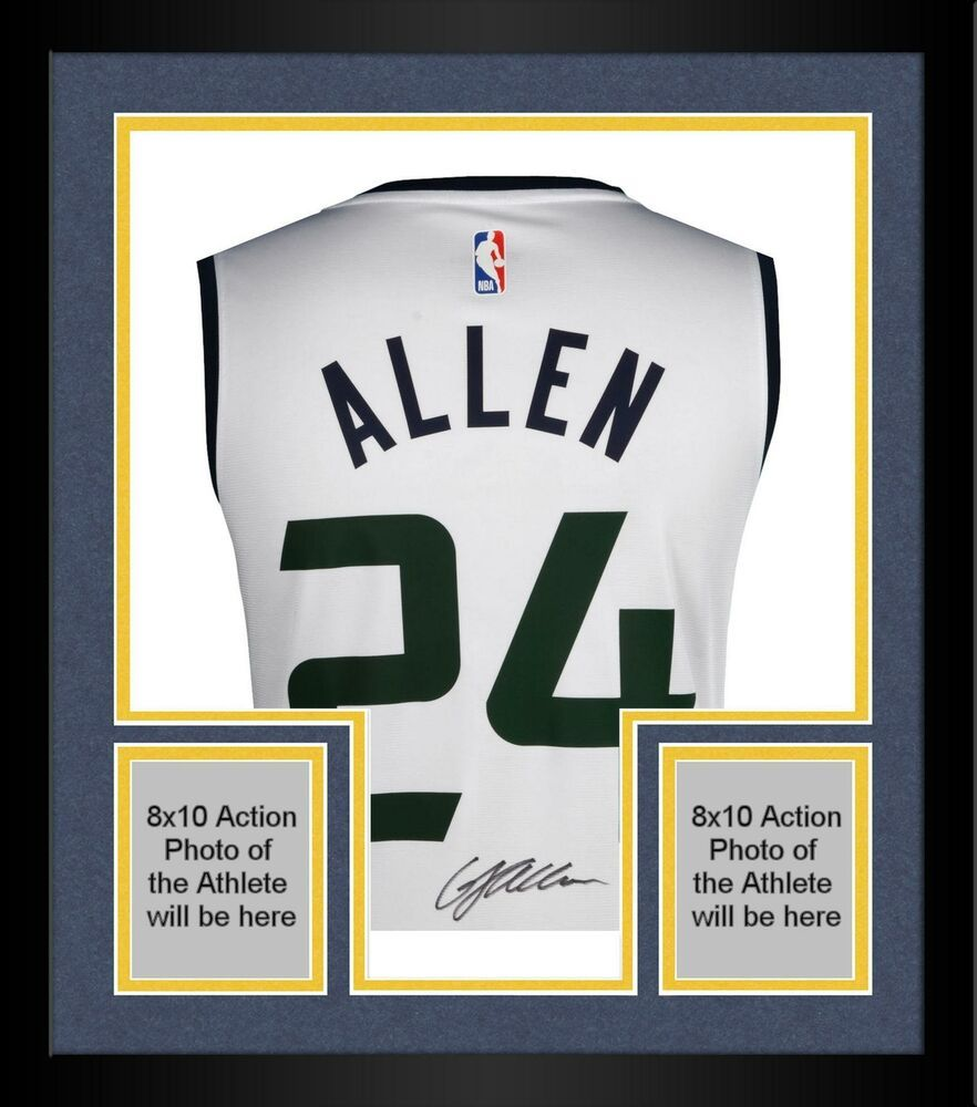 official photos 79d1f f0a17 Framed Grayson Allen Utah Jazz Autographed Fanatics White ...