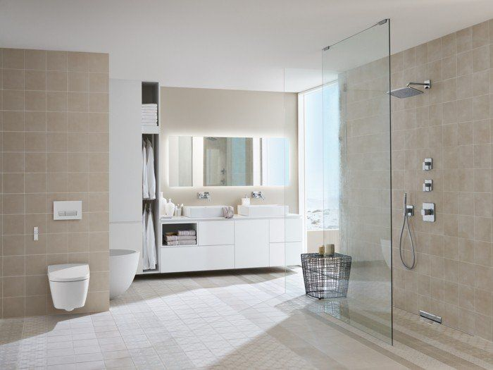 La salle de bain avec douche italienne 53 photos! - salle de bains douche italienne