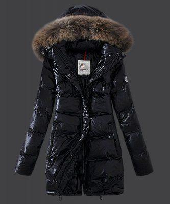 newest 44909 85da9 2015 New! Moncler Euramerican Style Down Coats Womens Black ...